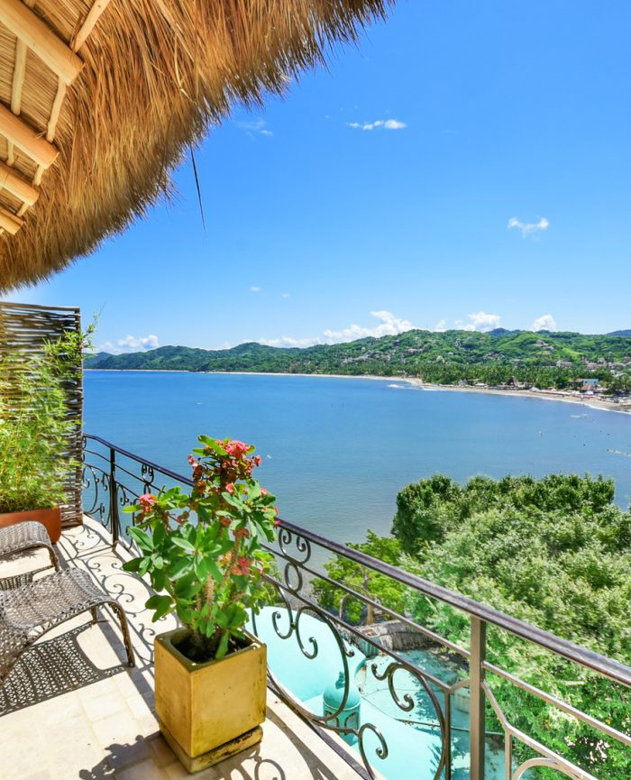 Mi Primer Beso ocean view condo in Sayulita MX
