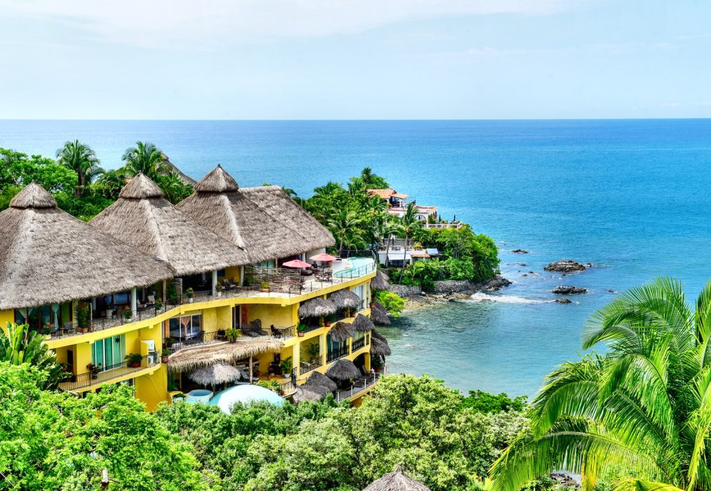 Las panor micas amor boutique hotel for Villas sayulita