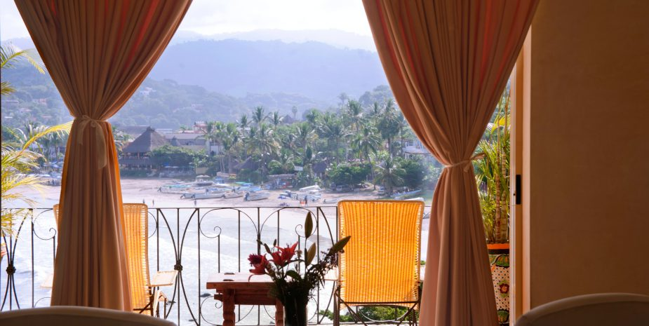 Hotelito at Amor Boutique Hotel in Sayulita Mexico. 1 bedroom ocean view luxury vacation rental.