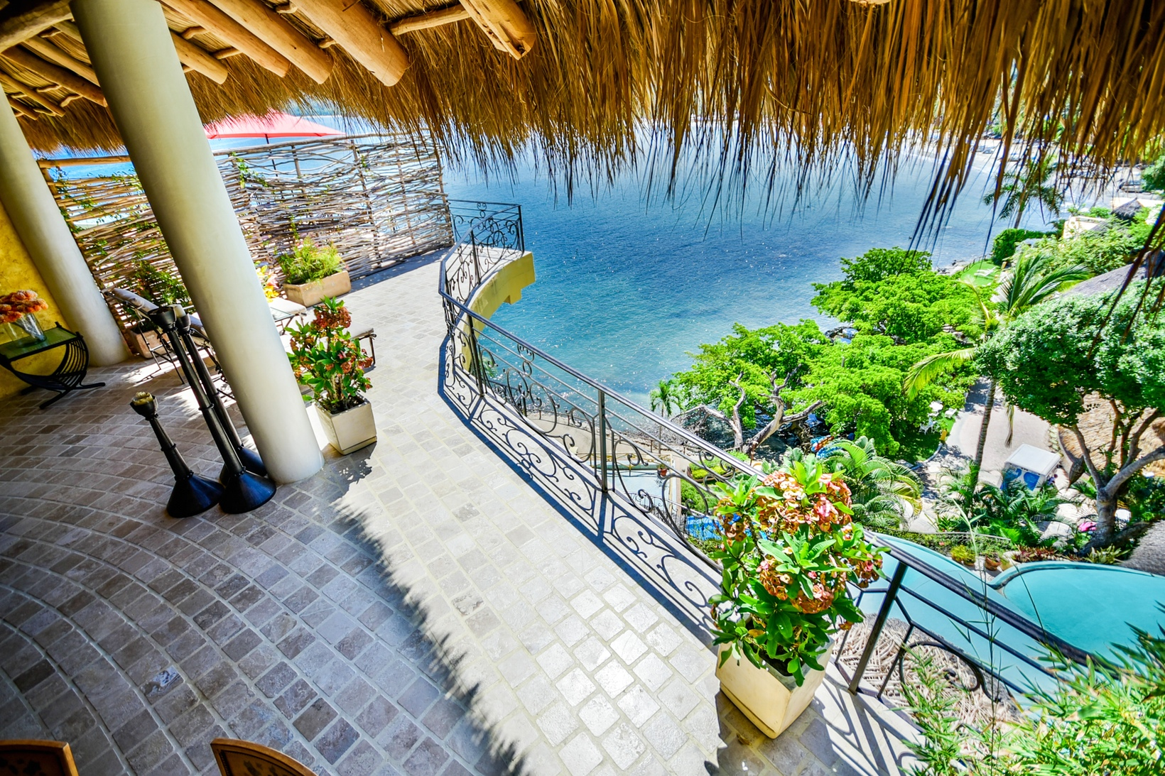 Villa Sirenita at Amor Boutique Hotel in Sayulita Mexico. Gorgeous 1 bedroom ocean view with private terrace.