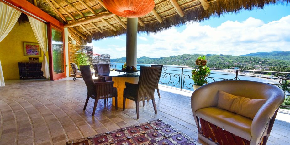 Amor Boutique Hotel's Besito Dulce is a luxury 2 bedroom oceanview villa in Sayulita Mexico.