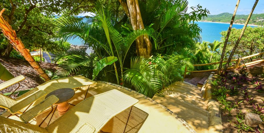 Vista Azul at Amor Boutique Hotel is a luxurious ocean view 1 bedroom in Sayulita Mexico.