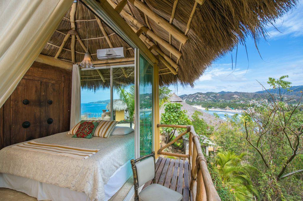 Villa De Amor At Boutique Hotel Offers Wonderful 270 Degree Views Of Sayulita Mexico